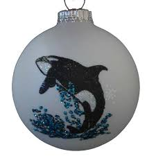 your wdw store sea world ornament blown glass
