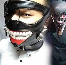 Cool Mask New Japan Anime Tokyo Ghoul Kaneki Ken Cool Mask Cosplay Men U0027s Pu