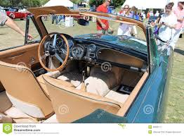 vintage aston martin interior classic brit sports car interior editorial photography image