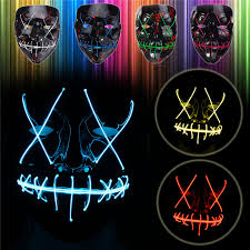 online buy wholesale halloween led light from china halloween led black different light colors halloween led mask face fancy costume