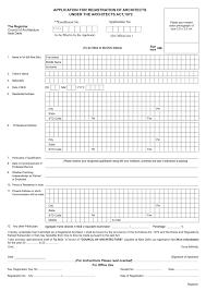 coa procedure for registration architecture ideas