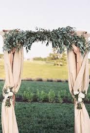 wedding arch greenery 35 stunning eucalyptus wedding decor ideas happywedd
