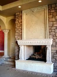 rustic decor fireplaces