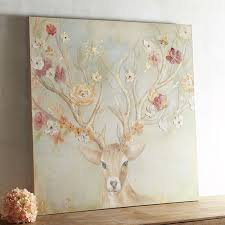 pier one home decor blooming antlers art pier 1 imports