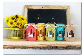 Mason Jar Centerpiece Ideas 12 Cool Diy Mason Jar Crafts To Welcome Fall Shelterness