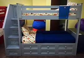 Winchester Bedroom Furniture by Winchester Twin Over Twin Stair Bunk W Captain Drawers Kids