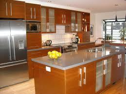 kitchen modern l shape kitchen decoration using nautical steel