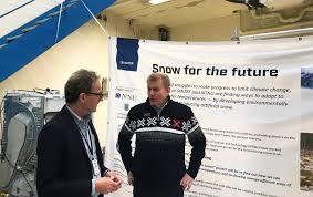 scientists will teach europe to make snow sintef