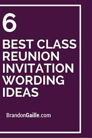50th high school reunion ideas 6 best class reunion invitation wording ideas class reunion