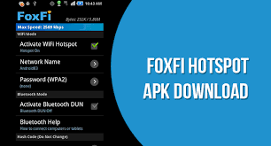 foxfi apk foxfi hotspot apk v2 19 for android device