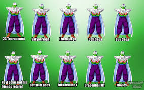 Piccolo Halloween Costume Evolution Dragon Ball Characters