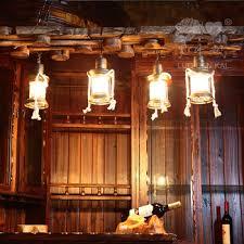 Rustic Bedroom Lighting Buy American Vintage Wrought Iron Chandelier Rustic Wood