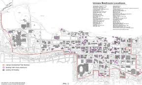 University Of Wisconsin Campus Map by Campus Wide Amenities Capital Planning U0026 Development