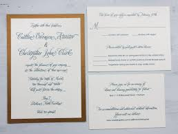 Formal Invitations Peacock Blue U0026 Antique Gold Modern Script Formal Wedding