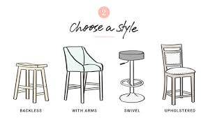 Bar Stool With Back And Arms How To Choose The Right Bar Stools Joss U0026 Main