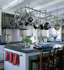 Zinc Kitchen Island - zinc kitchen hood with stainless steel straps design ideas