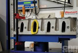 Used Flow Bench For Sale Testing Ls Cathedral Port Vs Square Port Heads Rod Network