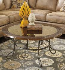 ashley furniture round coffee table buy ashley furniture t612 8 everleaux round cocktail table