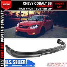 05 10 chevrolet cobalt ss coupe u0026 sedan ikon front bumper lip chin