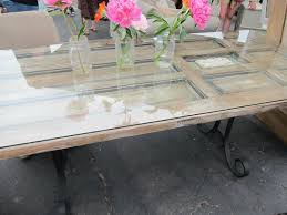 old doors made into coffee tables dining room table made old door cool too rusted dma homes 887