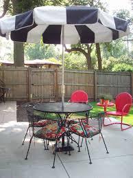Black And White Patio Umbrella Black And White Patio Umbrella Home Design Vintage Umbrellas Tilt