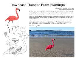 diy felt flamingo pattern flamingo flamingo