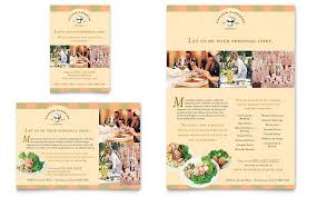 catering company flyer u0026 ad template design