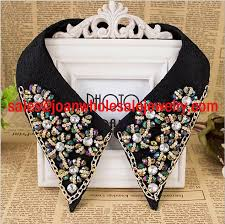fashion collar necklace wholesale images Fashion rhinestone flower collar necklace handmade colorful cheap jpg