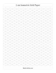 1 cm isometric grid paper portrait a math worksheet freemath