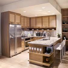 kichen design oak cabinets decorative design modern kitchen