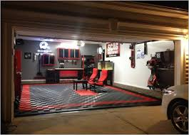 garage interior ideas garage interior ideas with cool lighting for contemporary home