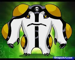 draw cannonbolt step step ben 10 characters cartoons