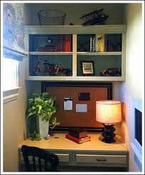 Small Desk Space Ideas Desk Design Ideas How To Built In Desks For Small Spaces 48