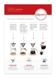What Does Your Coffee Say About You by Amazon Com Osaka Pour Over Coffee Dripper With Wood Stand Full
