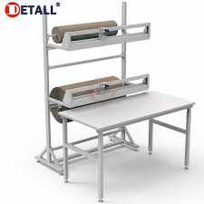 packing table with shelves morden esd workshop packing table buy packing table esd table