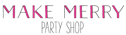 party goods make merry party shop festive and eco friendly party goods