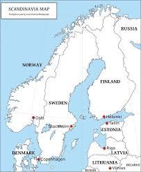 map of europe scandinavia scandinavia jpg 746 917 geo western central europe 7th