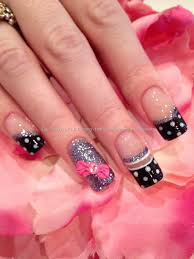 nail art with 3d bows art nailsart