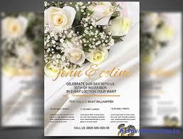wedding flyer 100 best wedding invitation card print templates 2015 frip in