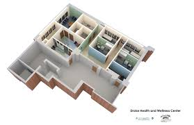 Health Center Floor Plan by Ui Health U0027s Mile Square Adds New Based Clinic At Drake