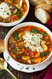 vegetable lasagna soup cooking classy