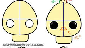 cute animal drawing tutorials easy cartoon drawing tutorials how