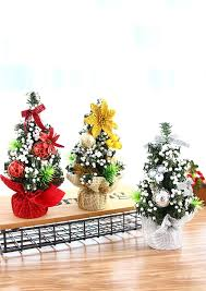 Small Christmas Tree Table Decorations by Mini Christmas Tree Table Decoration Fairyseason