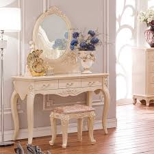 makeup dressing table with mirror furniture makeup vanity dressing table mirror european style french
