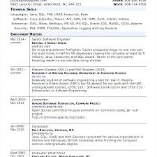 sample resume of computer science graduate sample resume for