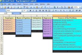 Issue Tracking Excel Template Bug Tracking Spreadsheet 1 00 By Methoda Computers Maintain And