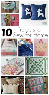 Diy Home Decorating Projects 10 Projects To Sew For Home And Block Party Rae Gun Ramblings