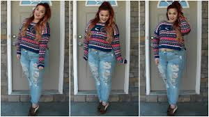 Hollister Clothes For Girls The Curvy Diaries Christmas In Cali Plus Size Ootd Youtube
