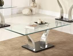 Modern Glass Coffee Tables Astounding Contemporary Coffee Table Glass Top U2013 Modern Glass