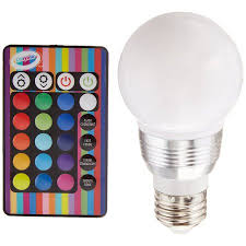 color changing light bulb with remote crayola remote control color changing led light bulb walmart com